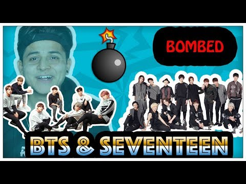 (KPOP SONGS BOMBED [ BTS || SEVENTEEN ] 5 minutes, 11 seconds.)