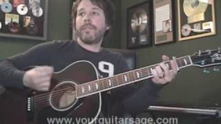Guitar Lessons - Every Mile a Memory by Dierks Bentley PART 2 chords Beginners Acoustic songs