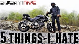 10. 5 Things I HATE about my 2006 Ducati Monster 620, Manhattan, Queens, Brooklyn to Jane Motors v706
