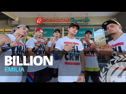 BILLION by Emilia | Zumba | Reggaeton | TML Crew Kramer Pastrana