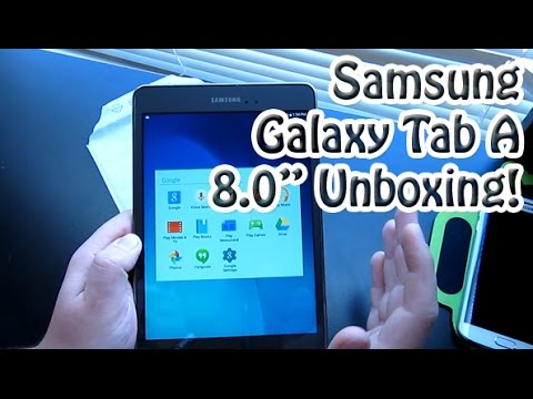 NEW* Samsung Galaxy Tab A 8.0 Unboxing & First Look