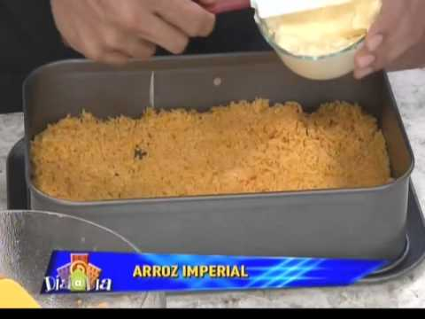 Arroz Imperial- Chef Edgardo Noel