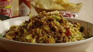 How to Make Simple Taco Salad - YouTube