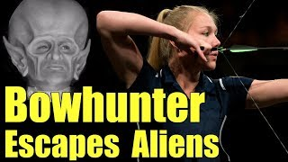 Man attacked by ET while bear hunting with bow ♦️ Extraterrestrial movies ♦️  Donald Schrum