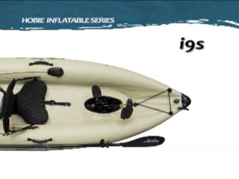 Hobie Mirage Inflatable Single Kayak i9s Overview
