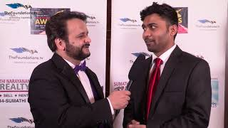 Manoj Iruvuri on FTV Red Carpet 2017
