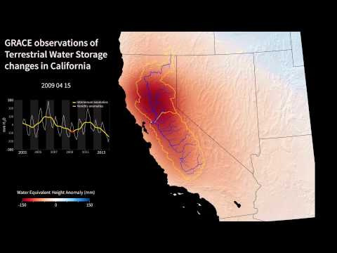 NASA Shows Severity Of California's Drought