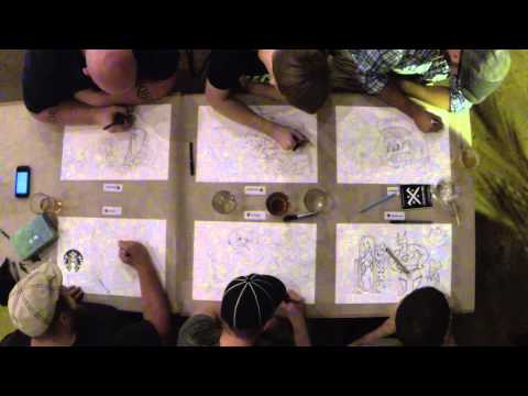 Craft Brew Doodle Crew – September2014