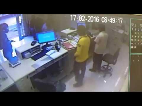 RIO BOM    Vídeo do assalto aos Correios 02 de 2008