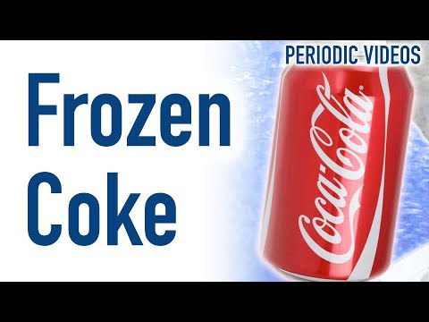 Can of Coke in Liquid Nitrogen