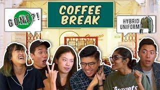 Video Coffee Break EP1: NEW SAF UNIFORM, KFC PLASTIC FREE, GRABSHARE MP3, 3GP, MP4, WEBM, AVI, FLV Oktober 2018
