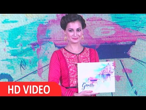 Dia Mirza Launch New Show Ganga The Soul Of India On Living Foodz