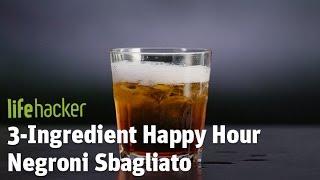 Delicious Campari-based drink!