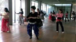 蔣老師-肚皮舞教學2