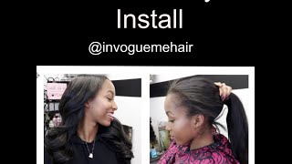 This video shows me performing my versatile sew in that is able to go into a ponytail! Hope you enjoy! Don't forget to subscribe and follow me on IG. HAVE YOU BEEN VOGUED? Special Thanks to my model Autumn! @theyfall4autumnLocated in Atlanta, GA @invoguemehair@envogueme