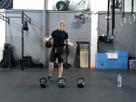 Kettlebell Swing for CrossFit