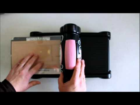 How To Use Quickutz Dies In Sizzix Big Shot Machine