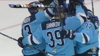 Великолепная трехходовка Сибири и Демидов забивает свой первый гол в сезоне