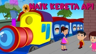 Naik Kereta Api Tut Tut Tut | Lagu anak TV | Riging a Train Song in Bahasa Indonesia Video