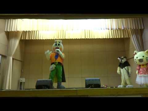 徳島とっくりんのお仕事 まきのん祭り(牧野小学校 大阪府枚方市) 2014年8月2日