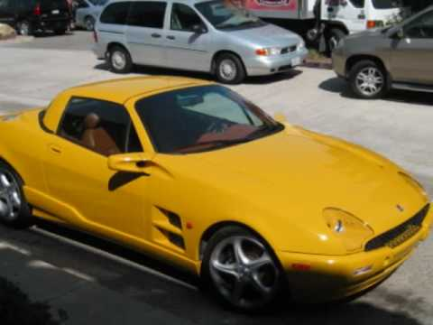 This is a very rare yellow Qvale....