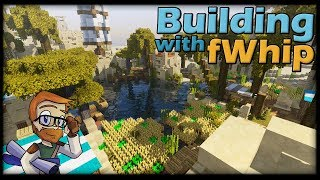 Building with fWhip :: DESERT OASIS DONE #98 MINECRAFT Let's Play 1.12 Single Player Survival