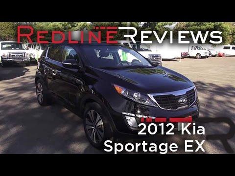 2012 Kia Sportage EX Review, Walkaround, Exhaust, Test Drive