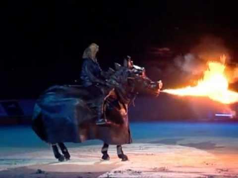 Cheval dragon cracheur de feu - Crinières d'or 2009