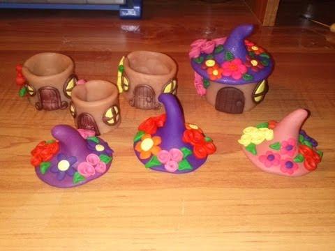 Craft Tutorial: Clay Fairy House Box