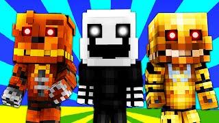 FNAF World - NIGHTMARIONNE! (Minecraft Roleplay) Night 33