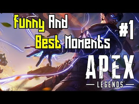 Reddit funny - NINJA INSANE ZIPLINE PLAY! - Apex Legends Funny And Best Moments Of The Day Ep. 1