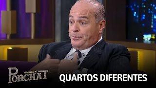 Marcelo explica por que não dorme no mesmo quarto que Luciana Gimenez