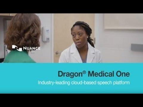 Nuance Dragon Medical One cloud-based speech platform for clinical documentation
