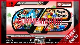 Smash Bros. Commentator