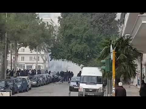 Επίθεση οπαδών του ΠΑΟΚ σε σύνδεσμο του Ηρακλή