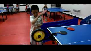 [TT training] Ever wonder how the kid's bike can help your Table Tennis game?