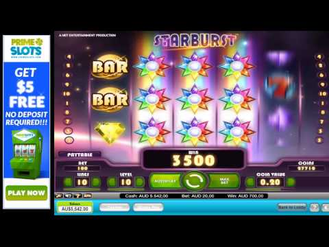 Huge win on starbust pokie machine - Awesome Free Feature - $7000+ in One Spin!