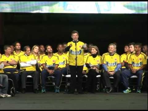 Selección Colombia de mayores invita al Mundial Sub-20 - Juan Manuel Santos