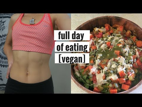 What I Ate Today as a VEGAN Nutrition Intern // applesandamandas