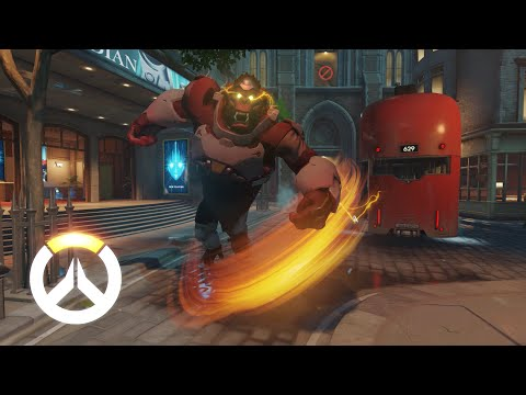 Overwatch - Winston Gameplay Preview