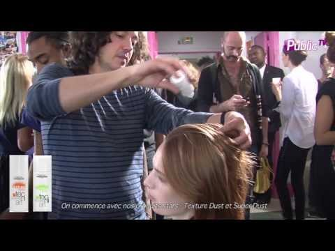 En backstage des défilés de la fashion week P/E 2014 avec L'Oréal Professionnel