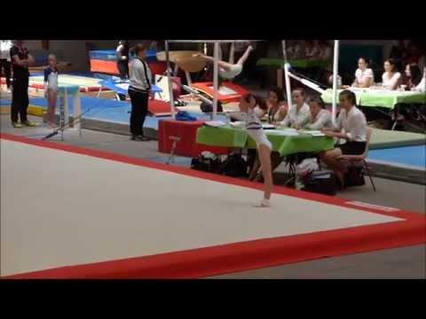 kloe gausselan-cresson (2006) championnat ffgym zone sud ouest finale individuelle pouss up 2015