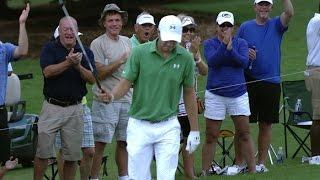 Jordan Spieth's magnificent bunker hole out at the TOUR Championship by PGA TOUR