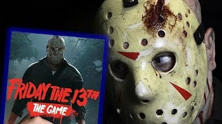 Playing the long-awaited Friday the 13th: The Game on launch night.