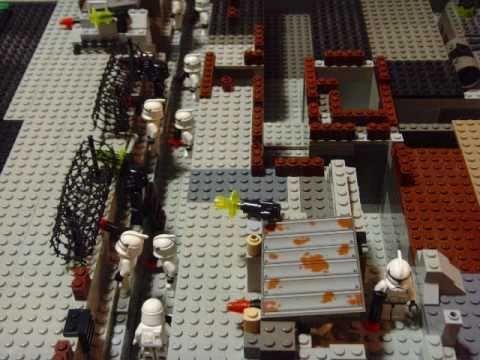 Lego star wars trench battle my lego star wars base