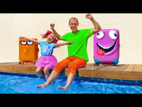 Katy y Papa se fueron de vacaciones a España