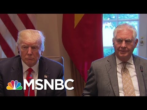Was Secretary Of State Rex Tillerson's Firing A Long Time Coming? | Andrea Mitchell | MSNBC