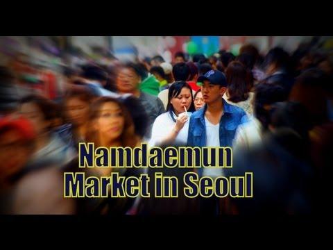 VIDEO: Namdaemun Market in Seoul