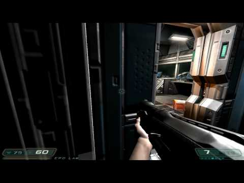 Doom 3 Walkthrough Part 7 HD - Level 5, Alpha Labs Sector 1