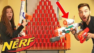 Video NERF CHALLENGE WAR en COUPLE !! DavidLafargePokemon VS MissJirachi ! MP3, 3GP, MP4, WEBM, AVI, FLV Agustus 2017
